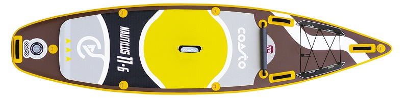 Coasto Nautilus 11.6 iSUP Stand Up Paddle Board 2019_ quer