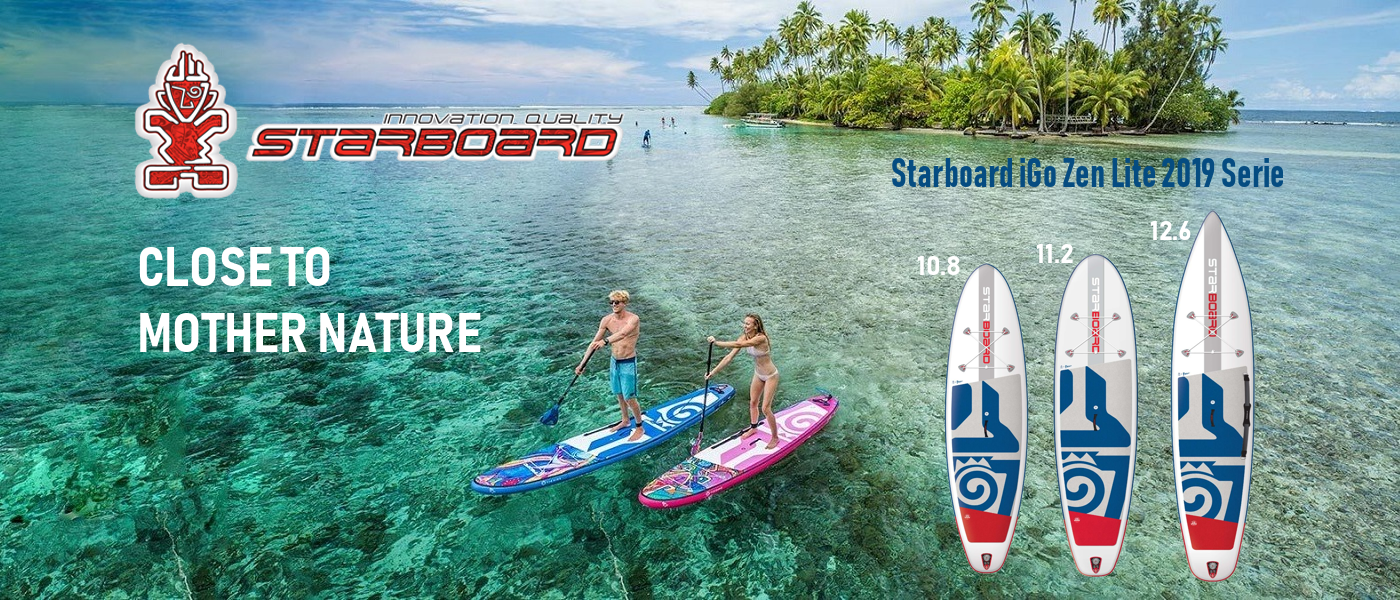 Starboard Zen Lite 2019 iSUP Stand Up Paddle Board