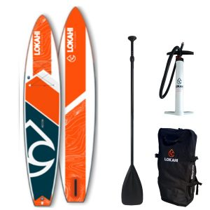 Lokahi Canoa 12.6 SUP orange